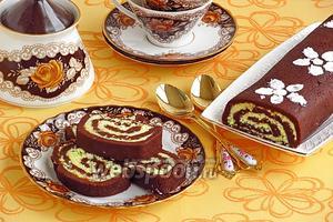 Шоколадный рулет «Баунти»
