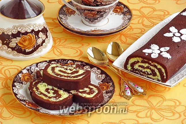 Фото Шоколадный рулет «Баунти»