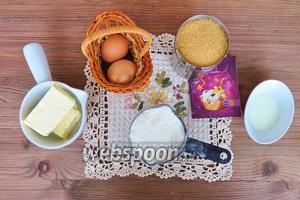 Тесто готовила по рецепту  Кейк попсы ванильные . Приготовим, сахар, масло мягкое, яйца, ванильный сахар, мука.