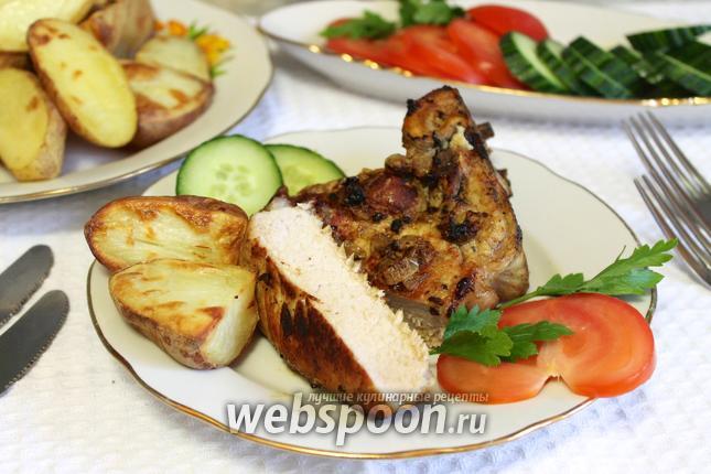 Антрекот из свинины в мультиварке рецепт пошагово 48