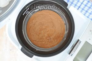 Чашу мультиварки смазать маслом и вылить тесто. Мультиварка PHILIPS 3095.