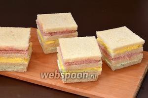 Бутерброды готовы.