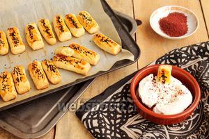Домашнее солёное печенье