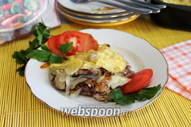 Фото Мясо в духовке по-деревенски