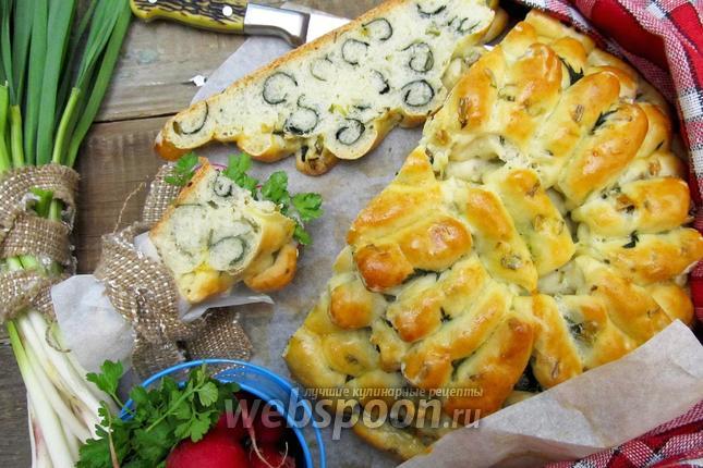 Фото Ароматный хлеб с крапивой