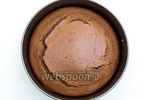 Пирог готов. Готовый пирог пружинит, если на него чуть надавить ладонью. 5-10 минут остужаем в форме, затем вынимаем и остужаем на решётке. Приятного чаепития!