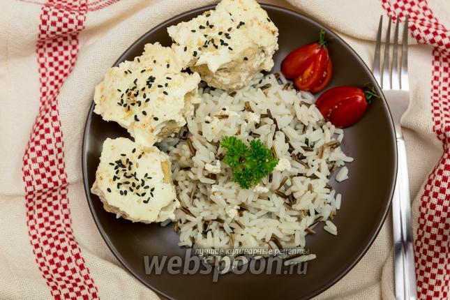 Фото Куриные тефтели в сметанном соусе