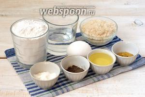 Для приготовления заварного майонеза на яйцах нам понадобится вода, мука, сахар, масло подсолнечное, соль, перец чёрный молотый, яйцо, соль, горчица.