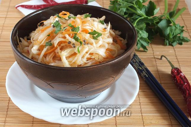 Фото Капуста по-корейски