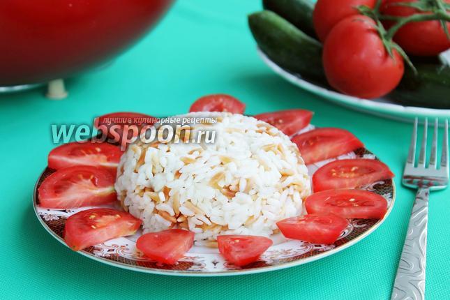 Фото Макароны с рисом (турецкий плов)