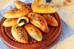 Пирожки с мясом печёные