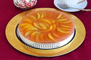 Торт «Персик»