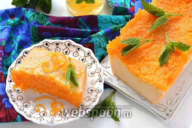 Фото Творожно-апельсиновая запеканка