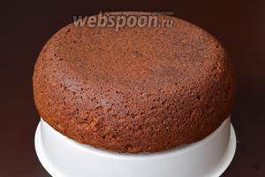Вытянуть пирог с помощью чаши для варки на пару. Пирог готов.