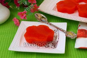 Морковное желе с цитрусовыми