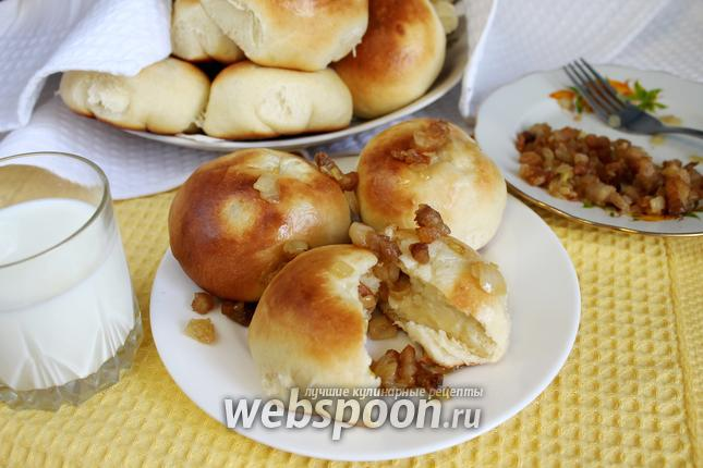 Фото Шаньги с картошкой по-сибирски