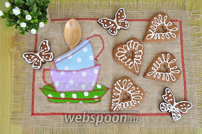 Фото Шоколадно-ореховые коржики из цельнозерновой муки