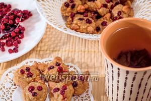Творожно-геркулесовое печенье «Лисички»