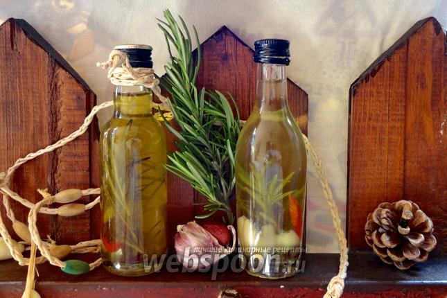 Фото Салатное пряное масло