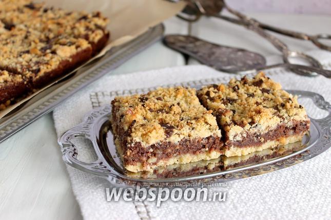 Фото Печенье шоколадно-ореховое