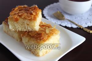 Пирог «Лепесток миндаля»