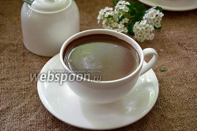 Фото Горячий шоколад с ромом