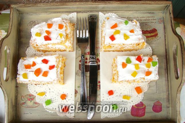 Фото Морковные пирожные со сливками