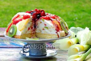 Торт «Фруктовый рай»