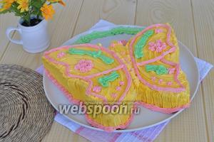 Торт «Бабочка»