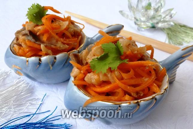 Фото Хе из сельди с овощами
