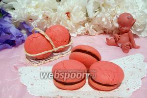 Печенье Red Macarons