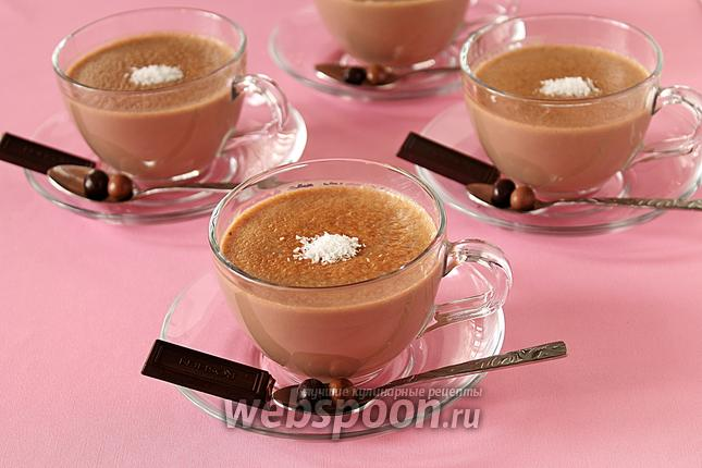 Фото Домашний шоколадный пудинг