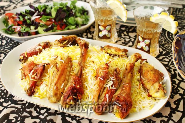 Фото Плов с курицей по-азербайджански