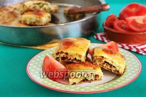 Мясной пирог по-турецки