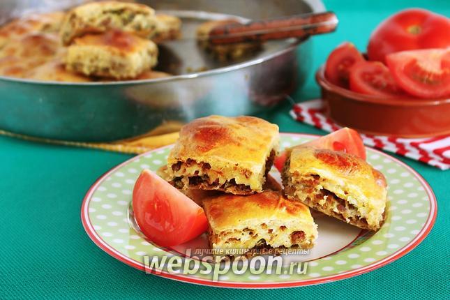 Фото Мясной пирог по-турецки