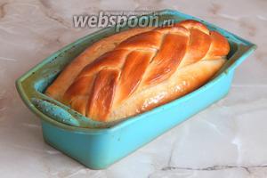 Белый хлеб на сыворотке готов!