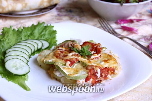 Фото Запеканка с курицей и овощами «Сыто-круто»
