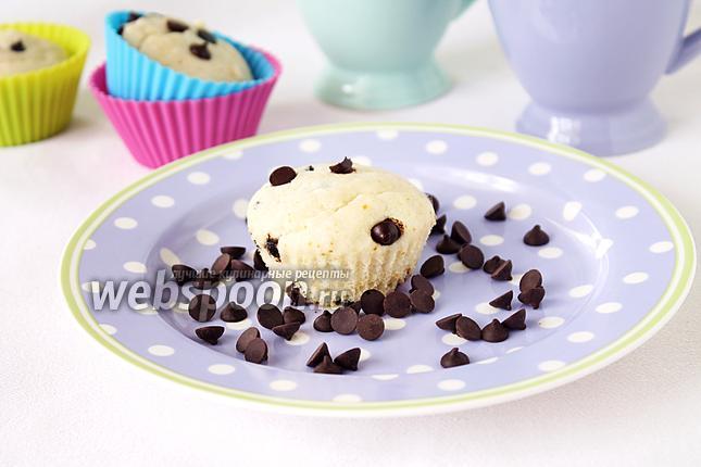 Фото Маффины «Белоснежка» с мороженым