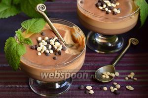 Кофейно-шоколадный десерт