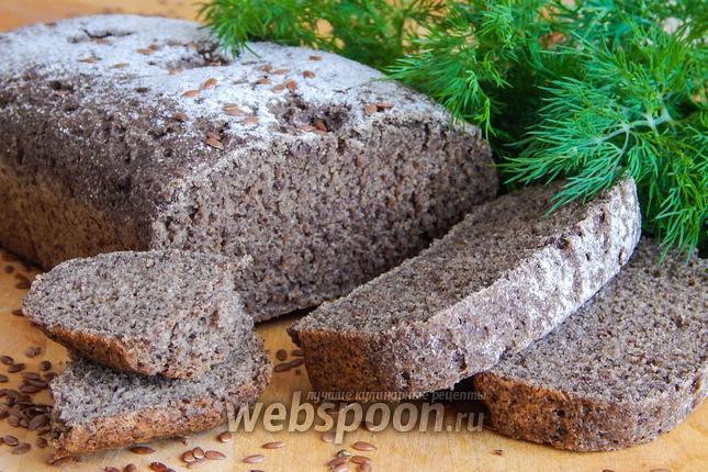 Фото Льняной хлеб