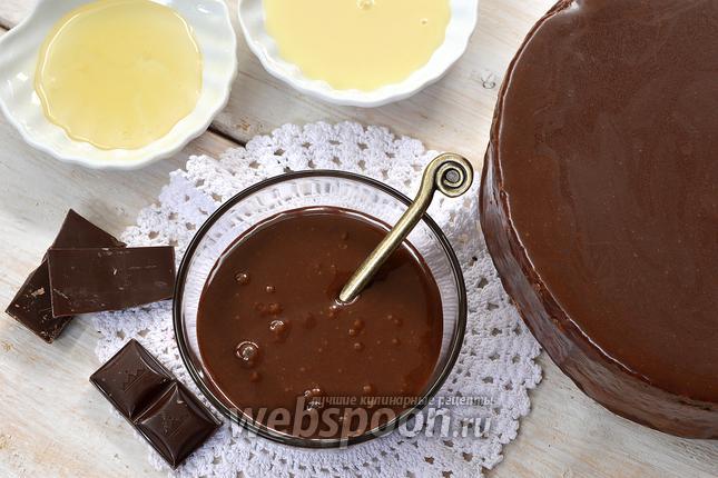 Фото Зеркальная шоколадная глазурь от Пьера Эрме