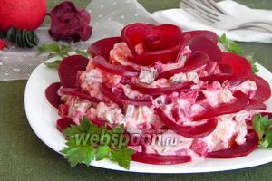 Салат «Чёрная роза»
