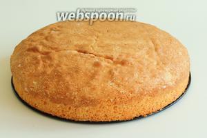 Если вы хотите с бисквитом работать дальше, то рекомендую дать ему отдохнуть не менее 5 часов. Шведский бисквит готов.