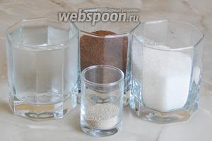 Готовить настоящий ржаной квас мы будем из таких продуктов: ржаной солод, вода, сахар и дрожжи сухие (можно заменить прессованными — 15 граммов).