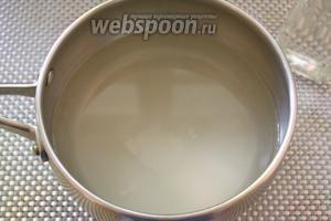 В кастрюльке соедините 2 ст. л. сахара, 1 ст. л. соли, 100 мл уксуса и 500 мл воды питьевой. Закипятите и размещайте, чтобы сахар и соль разошлись.