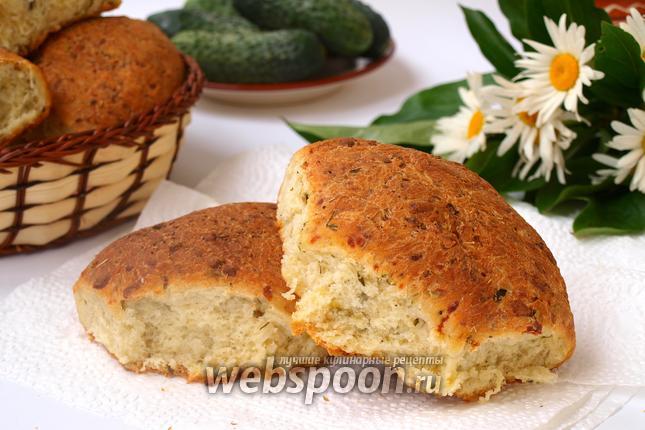 Фото Огуречный хлеб с сыром