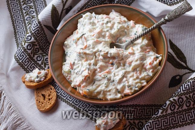 Фото Цацики по-критски с морковкой