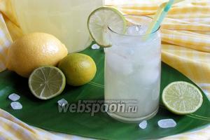 Домашний лимонад из лаймов