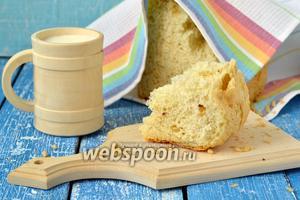 Французский хлеб с кедровыми орешками в хлебопечке