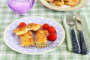 Конвертики из лаваша с сырной начинкой